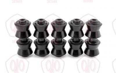 Ремкомплект: 10Я-21 + распорные металлические — Втулки реактивных штанг задней подвески + распорные втулки